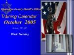 charleston county sheriff s office training calendar5