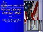 charleston county sheriff s office training calendar6