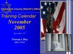 charleston county sheriff s office training calendar8