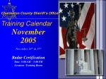 charleston county sheriff s office training calendar9