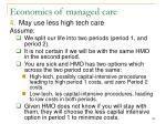 economics of managed care120