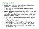managed care122