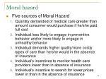 moral hazard40
