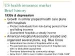 us health insurance market brief history149