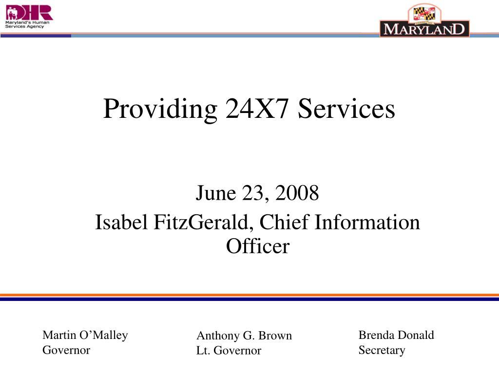 june 23 2008 isabel fitzgerald chief information officer l.