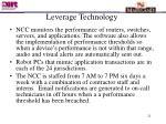leverage technology21