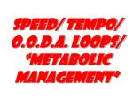 speed tempo o o d a loops metabolic management