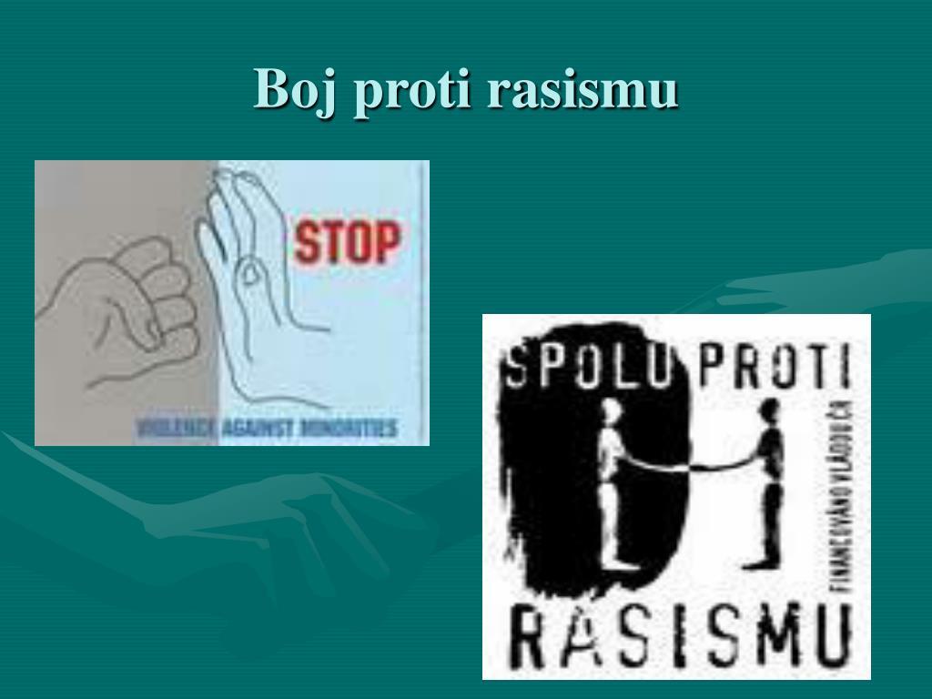 Boj proti rasismu