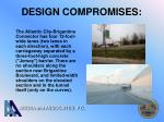 design compromises