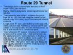 route 29 tunnel