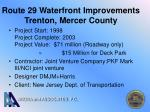 route 29 waterfront improvements trenton mercer county20