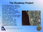 the roadway project