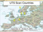 uts scan countries