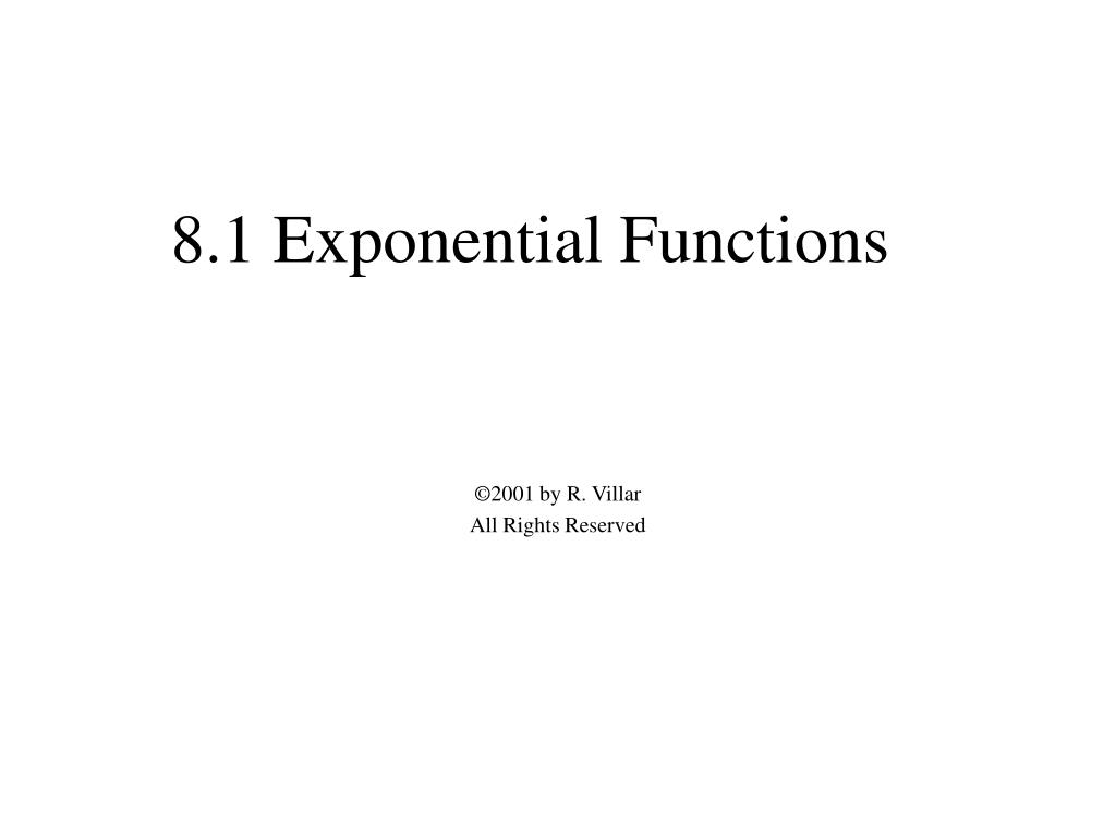 8 1 exponential functions l.