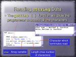 reading cstring data