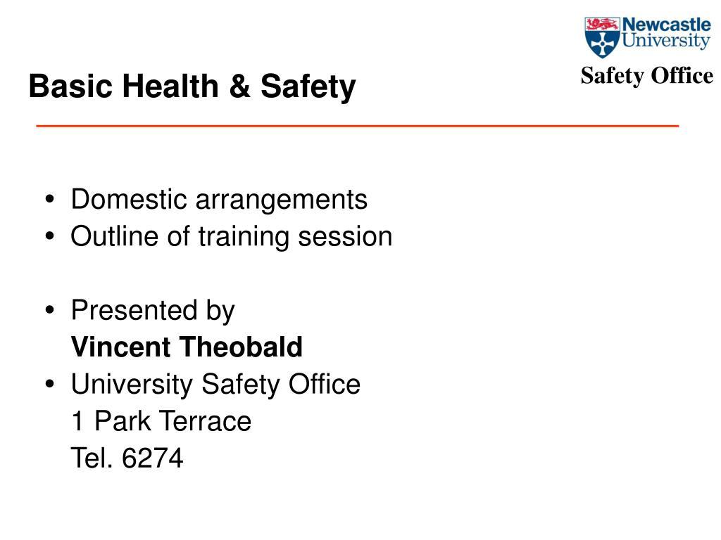basic health safety l.
