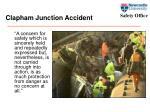 clapham junction accident