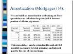 amortization mortgages 4