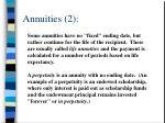 annuities 2