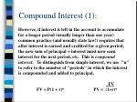 compound interest 1