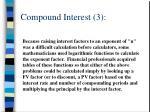 compound interest 3