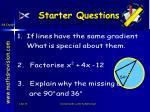 starter questions26