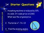 starter questions44