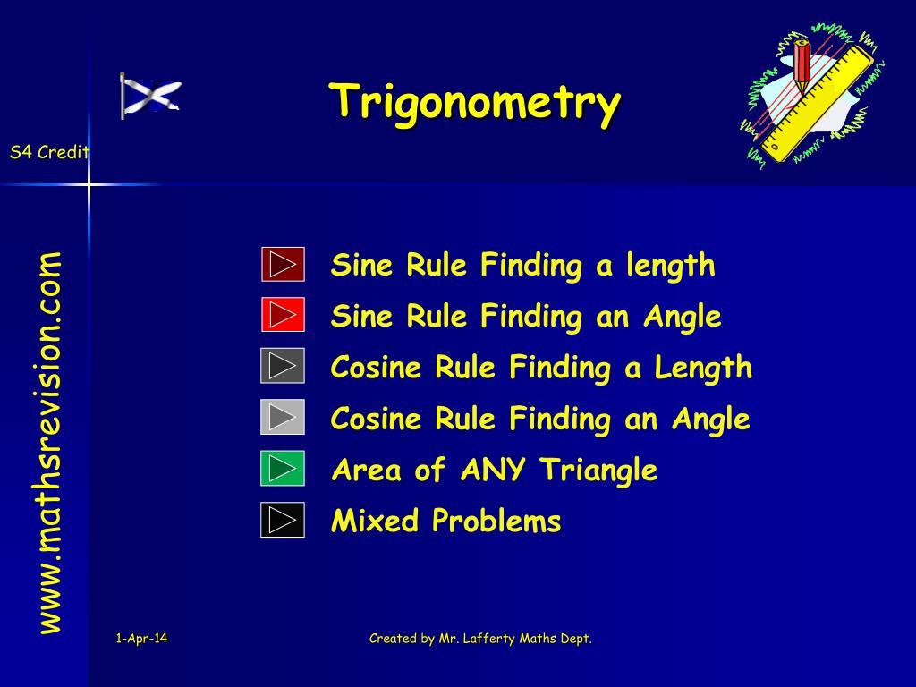 trigonometry l.