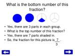 what is the bottom number of this fraction