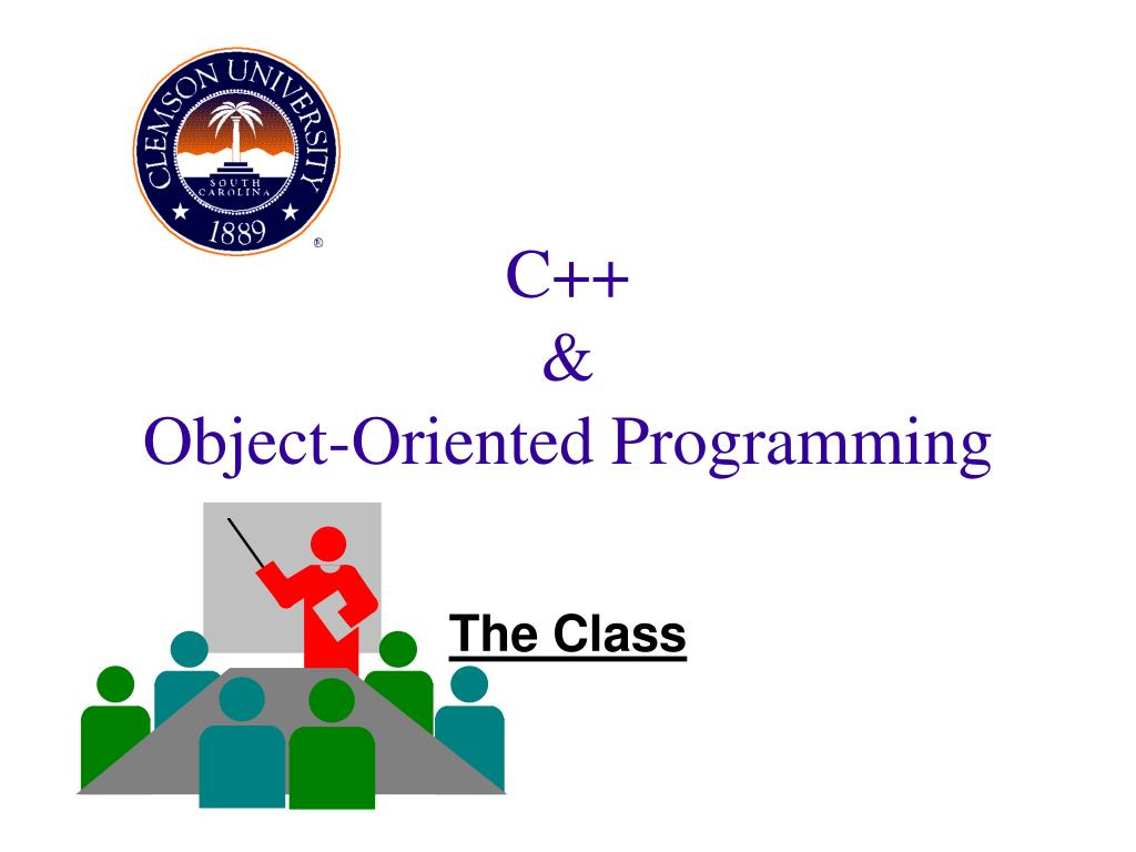 c object oriented programming l.