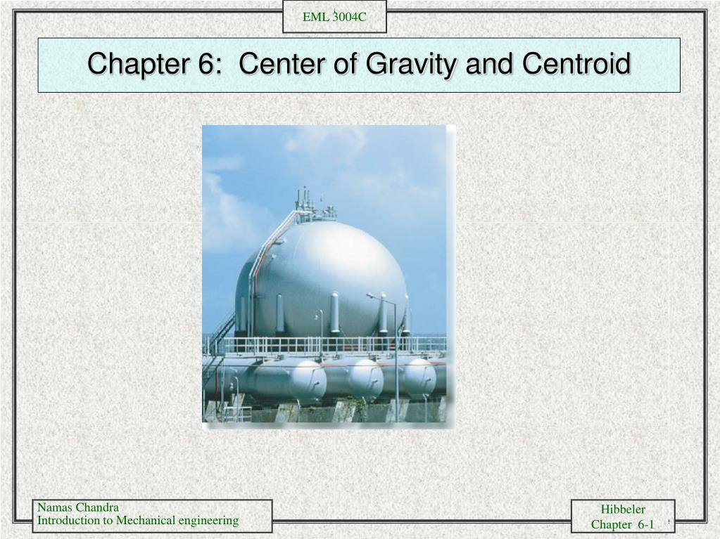 chapter 6 center of gravity and centroid l.