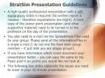 stratsim presentation guidelines3