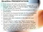 stratsim presentation