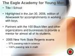 the eagle academy for young men