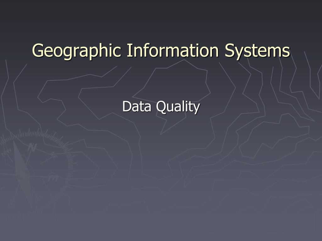 geographic information systems l.