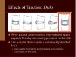 effects of traction disks11