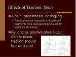 effects of traction spine4