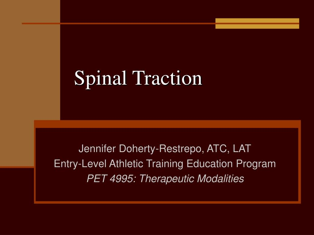 spinal traction l.