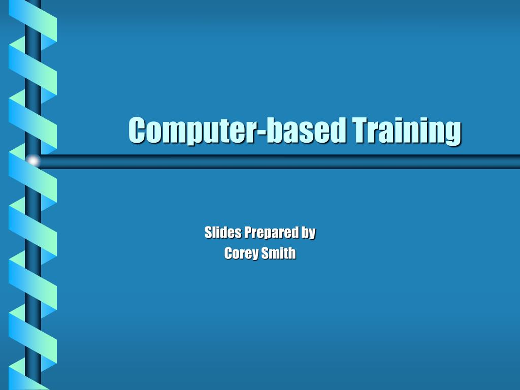 computer based training l.