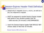 session expires header field definition