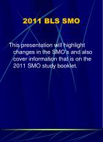 2011 bls smo