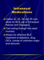 intranasal medications