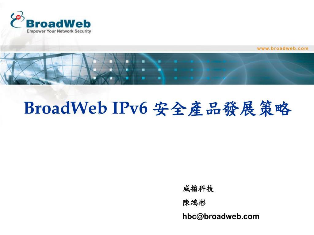 broadweb ipv6 l.