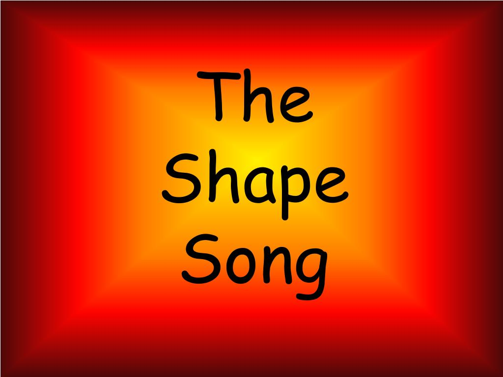 the shape song l.