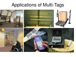 applications of multi tags