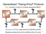 generalized yoking proof protocol