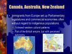 canada australia new zealand