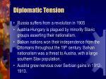 diplomatic tension27