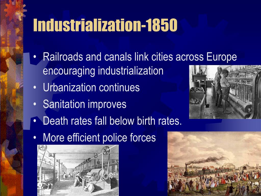 industrialization 1850 l.