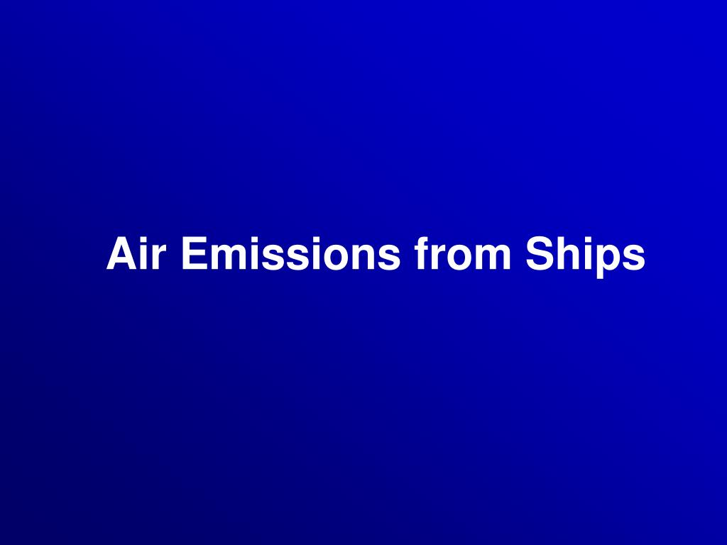 air emissions from ships l.